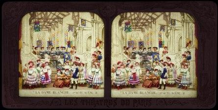 Stereokort, La Dame blanche 5, acte III, scène II - SMV - S165b.tif
