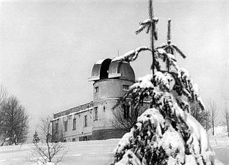 Sonneberg Observatory - The observatory in 1935