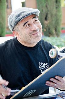 Steve Caballero American skateboarder and musician