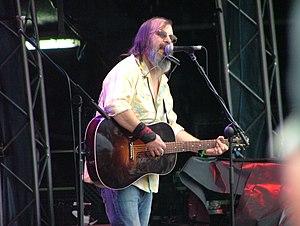 Steve Earle - Earle performing in 2007 at the Midlands Music Festival in Westmeath, Ireland