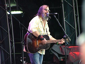 Steve Earle - Earle performing in 2007 at the Midlands Music Festival in Westmeath, Ireland