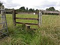 Stile on Footpath from Chapel Brampton - geograph.org.uk - 233416.jpg