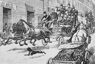 Historical fires of Stockholm - Stockholm Fire called out, 1880s