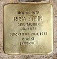 Stolperstein Bozener Str 17 (Schön) Rosa Stein.jpg