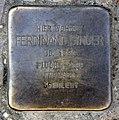 Stolperstein Essener Str 24 (Moabi) Ferdinand Singer.jpg