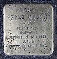Stolperstein Güntzelstr 49 (Wilmd) Szilard Diamant.jpg