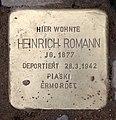 Stolperstein Hektorstr 16 (Halsee) Heinrich Romann.jpg