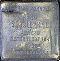 Stolperstein Köln, Arno Schallamach (Brüsseler Platz 9).jpg