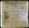 Stumbling stone for Paul Moses (Neumarkt 25)