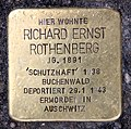 Stolperstein Kantstr 149 (Charl) Richard Ernst Rothenberg.jpg