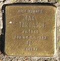 Stolperstein Marheinekeplatz 4 (Kreuz) Max Tarrasch.jpg