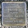 Stolperstein Schloßstr 1 (Hermd) Hugo Klein.jpg