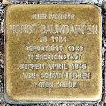 Stolperstein Verden - Horst Baumgarten (1924).jpg
