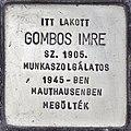 Stolperstein für Imre Gombos (Szolnok).jpg