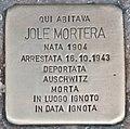 Stolperstein für Jole Mortera (Rom).jpg