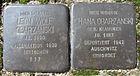 Stolpersteine für Chana und Leon Wolf Obarzanski