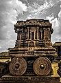 Stone Chariot at Vittala Temple Complex, Hampi.jpg