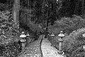 Stone lantern-lined stairway (4154482684).jpg