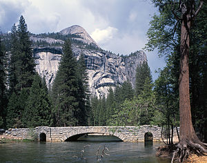 Yosemite Valley Bridges - Stoneman Bridge