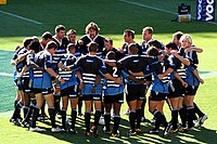 The Stormers team during a 2006 Super 14 match.
