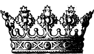 Duke of Florence - The ducal coronet used by the Italian states.