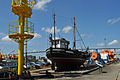 Stralsund, Nautineum, Kutter SPA-2 Margarethe (2013-07-30), by Klugschnacker in Wikipedia.JPG