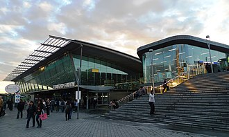 Queen Elizabeth Olympic Park - South entrance to Stratford station