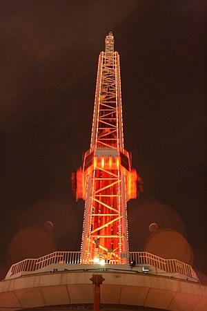 Big Shot (ride) - Image: Stratosphere Las Vegas Big Shot