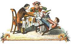 Der hyperaktive Zappelphilipp aus Struwwelpeter von H. Hoffmann