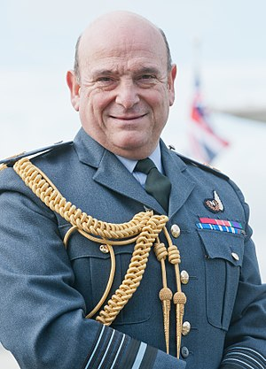 Chiefs of Staff Committee - ACM. Sir Stuart Peach, 23rd and current Chief of the Defence Staff (Chairman).