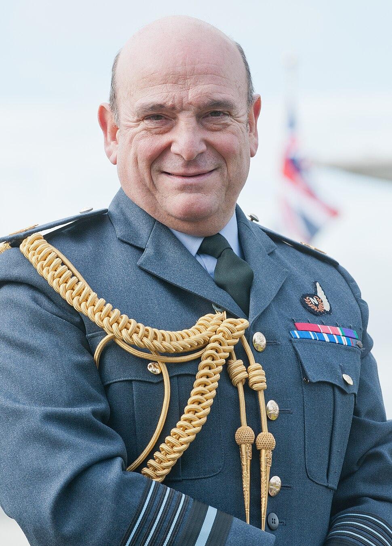 Stuart Peach in dress uniform