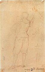 Study 1 for La rendición de Breda, by Diego Velázquez.jpg