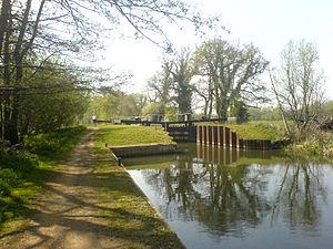 Sulhamstead Lock - Image: Sulhampstead Lock