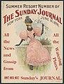 Summer resort number of The Sunday Journal, New York, June 14, 1896 ... - Archie Gunn. LCCN2014649610.jpg