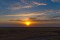 Sunset on the South Kazakhstani steppe.jpg