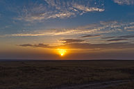 Sunset on the South Kazakhstani steppe.jpg