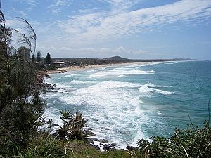 English: Coolum, Sunshine Coast, Queensland, A...