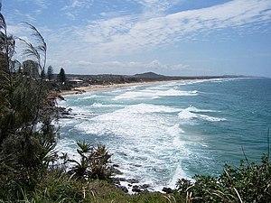 English: Coolum, Sunshine Coast, Queensland, A...