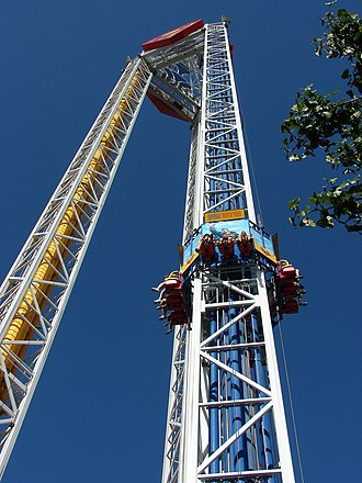 Superman: Tower of Power - Image: Superman Tower 5954
