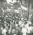 Supporters coming to hear Sukarno, Impressions of the Fight ... in Indonesia, p7.jpg