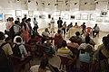 Susanta Banerjee Addresses - Group Exhibition Inauguration - PAD - Kolkata 2016-07-29 5259.JPG
