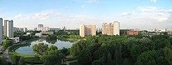 Skyline of Sviblovo縣