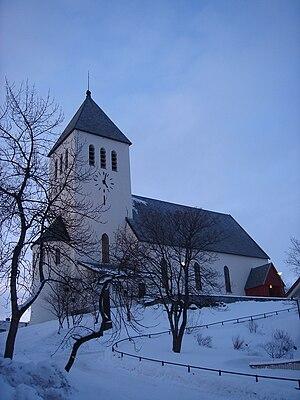 Svolvær Church - Image: Svolvær kirke a