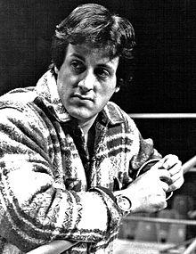 Sylvester Stallone nel 1977.
