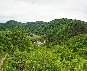 Křivoklátsko Protected Landscape Area - Týřov reserve in central Křivoklátsko