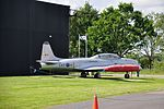 T-33 Shooting Star at Yorkshire Air Museum (8381).jpg