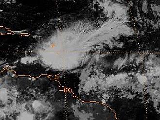 1983 Atlantic hurricane season - Image: TD6 20 sept 1983 0600Z
