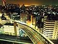 TOkyo, night view like a miniature landscape. 箱庭的東京夜景 (13129232213).jpg