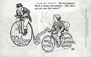 Bicycling and feminism