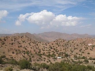 Hejaz - Mountains near Ta'if, 2012